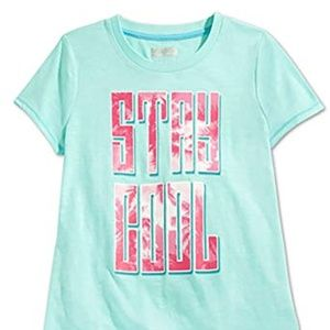 Layer 8 Girls Stay Cool Graphic T-Shirt